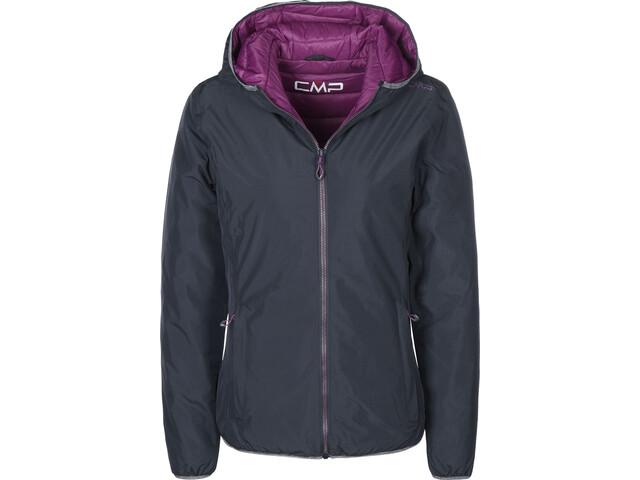 CMP Campagnolo 3Z23576 Fix Hood Jacket Women black blue